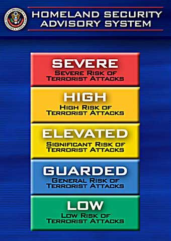 Homeland Security Definitions